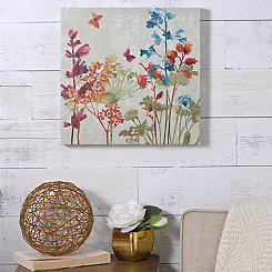 Colorful Flowers II Canvas Art Print