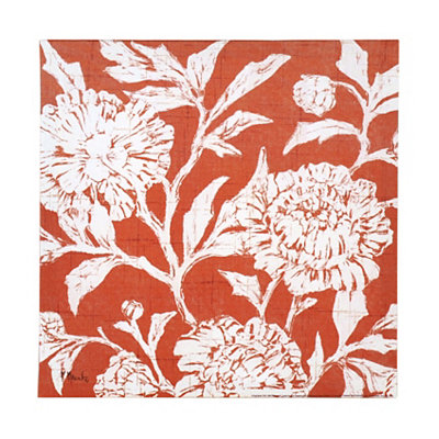 Spice Jardin Floral Canvas Art Print