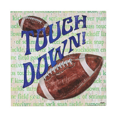 Football All Star Canvas Art Print