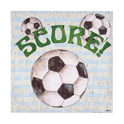 Soccer All Star Canvas Art Print
