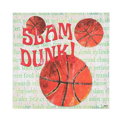 Basketball All Star Canvas Art Print
