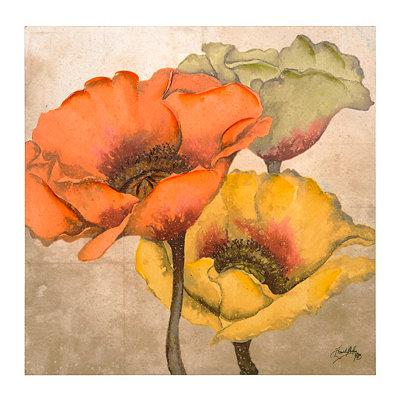 Poppy Trio Canvas Art Print
