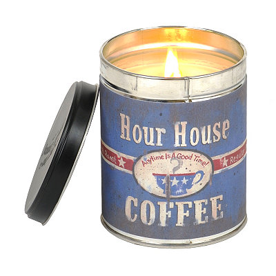 Hour House French Vanilla Tin Jar Candle