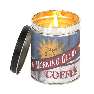 Morning Glory Hazelnut Coffee Tin Jar Candle