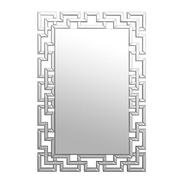 gemma lattice framed mirror 32x48 in