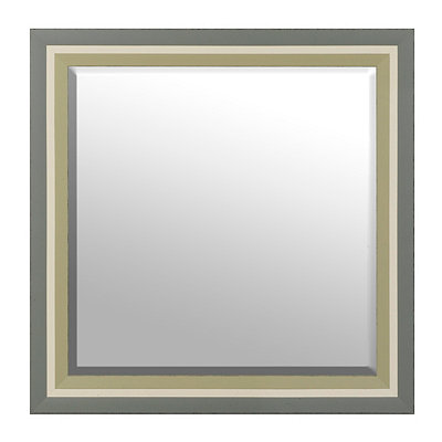 Coastal Reflections Framed Mirror, 30x30