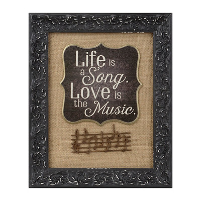 Life Is A Song Shadowbox