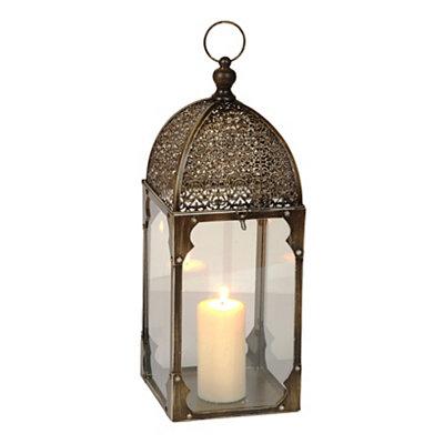Antique Gold Window Lantern