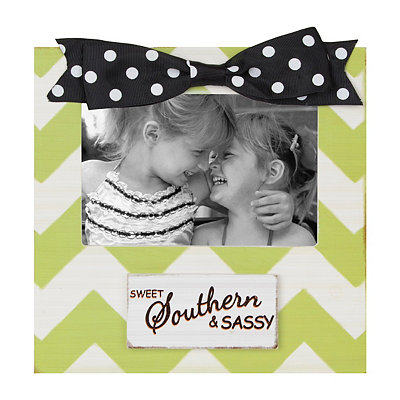 Green Southern and Sassy Picture Frame