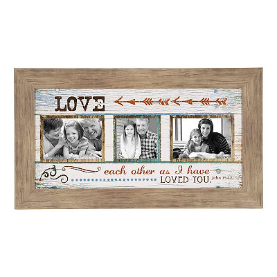 Love Each Other Collage Frame