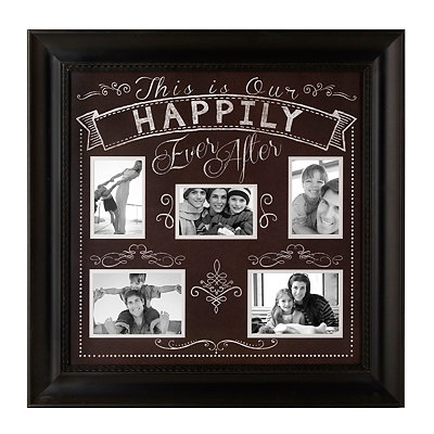 Happily Ever After Collage Frame