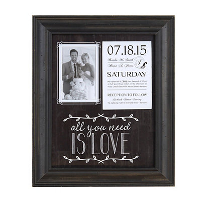 All You Need is Love Picture Frame, 4x6