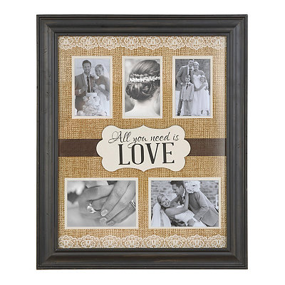 All You Need is Love Collage Frame