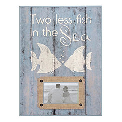 Two Less Fish in the Sea Picture Frame