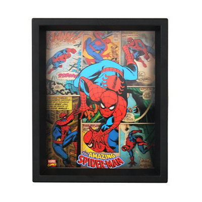Holographic Amazing Spiderman Shadowbox