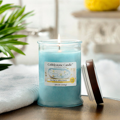 Mom's Spa Day Jar Candle