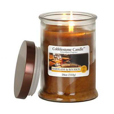 Mahogany and Bourbon Jar Candle