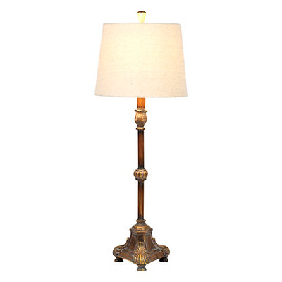 Winthrop Bronze Buffet Lamp