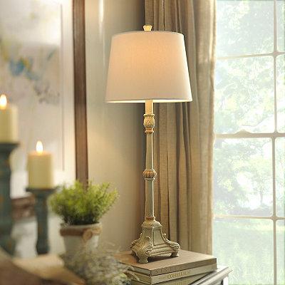 Darien Blue Buffet Lamp