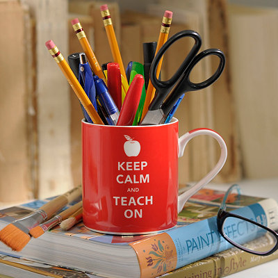 Keep Calm and Teach On Mug