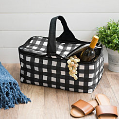 Plaid Picnic Totes