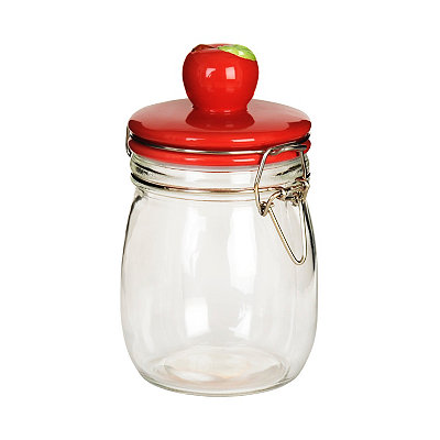 Apple Top Jar