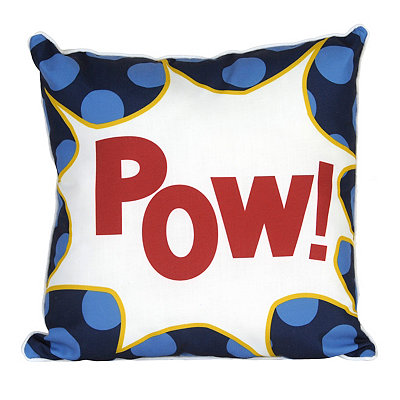 Pow Superhero Pillow
