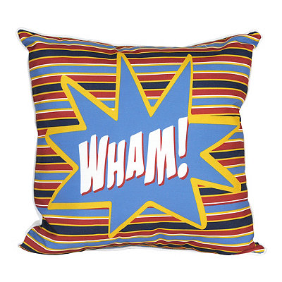 Wham Superhero Pillow