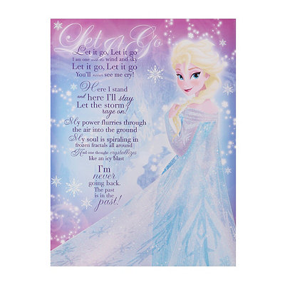 Elsa Let It Go Canvas Art Print