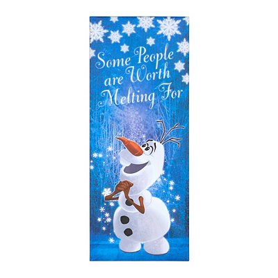 Some People Are Worth Melting For Canvas Art Print