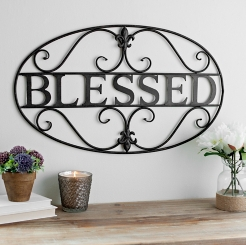 Metal Wall Decals Beauteous Metal Art  Metal Wall Art  Kirklands Review