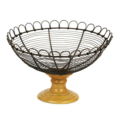 Scalloped Wire Bowl