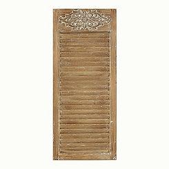 Rustic Shutter Wooden Plaque