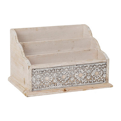 Natural Medallion Letter Sorter