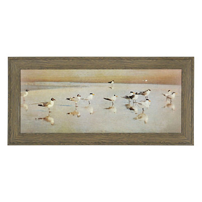 Coastal Reflections Framed Art Print