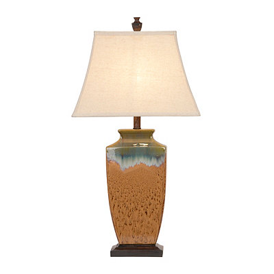 Color Infusion Ceramic Table Lamp