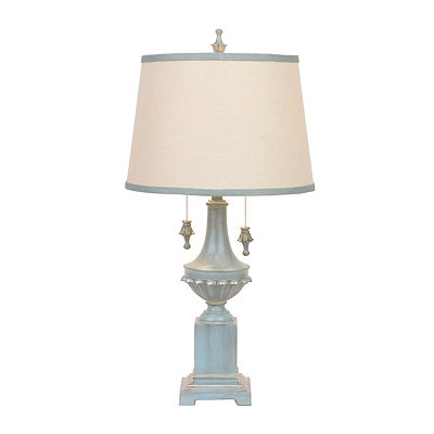 Cibali Blue Double-Pull Table Lamp