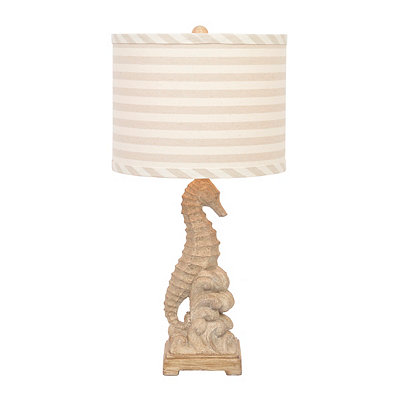 Sandy Seahorse Table Lamp