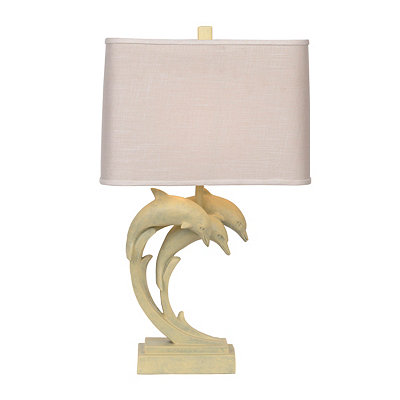 Diving Dolphins Table Lamp