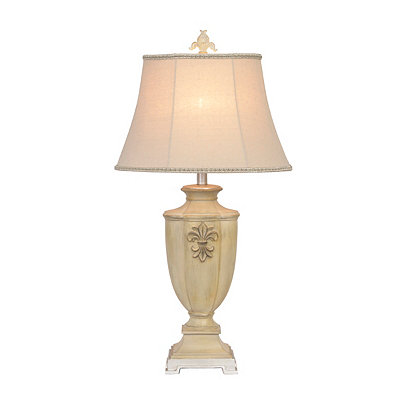 Traditional Fleur-de-lis Table Lamp