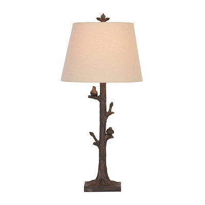 Birds in a Tree Table Lamp