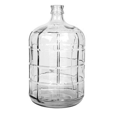 Clear Windowpane Vase