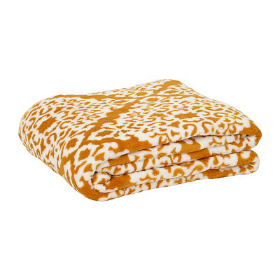 Gold Diamond Oversized Throw Blanket