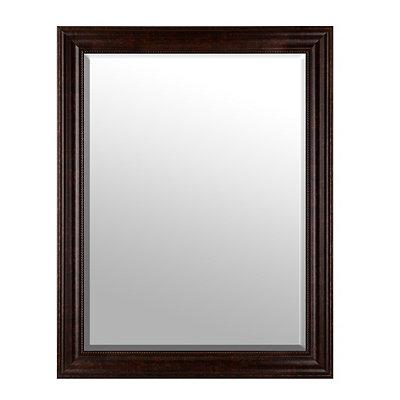 Beaded Bronze Framed Mirror, 38x48