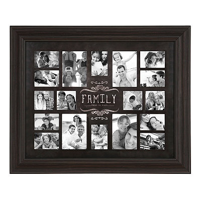 Family Forever and Always Collage Frame