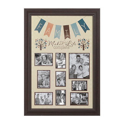 Family Pennant Banner Collage Frame