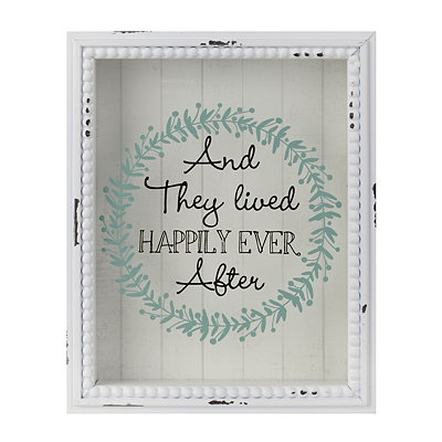 Happily Ever After Wedding Wish Box