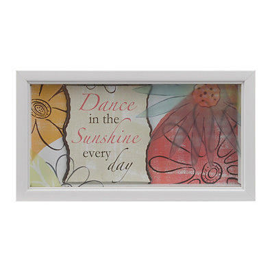 Dance in the Sunshine Framed Art Print