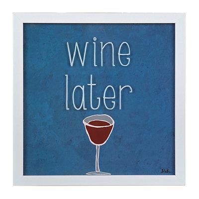 Wine Later Framed Art Print