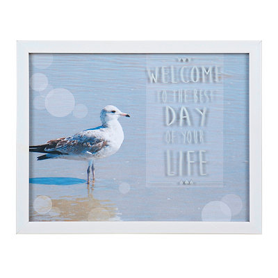 Best Day of Your Life Framed Art Print